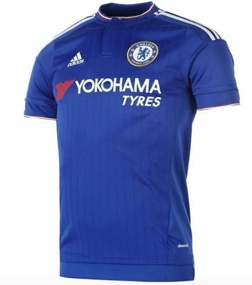 Chelsea Adidas FC Chelsea Home Blue Jersey Kit 2015/16 Size M  New