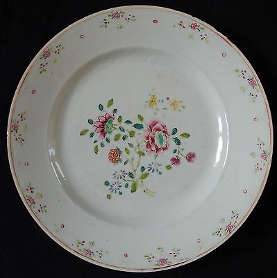 """Assiette ancienne CHINE Chinese Porcelain (Compagnie des Indes) (""""n°15"""")"""