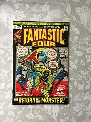 Marvel Comics Fantastic Four # 124 1972 (FN/VF)