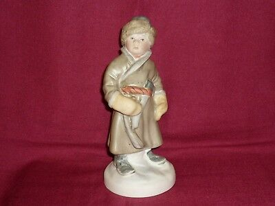 1959-s Old, Soviet porcelain. THE YOUNG WOODCUTTER. THE BOY WITH THE AXE. Sand