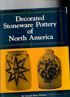 DECORATED STONEWARE POTTERY  by DONALD BLAKE WEBSTER