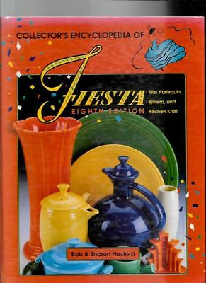 FIESTA POTTERY PRICE GUIDE by BOB and SHARON HUXFORD