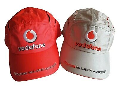 Vodafone McLaren Mercedes Alonso Cap - Set of two Caps in Red-Grey, One size