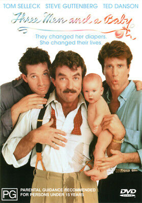 Three Men and a Baby NEW DVD (Region 4 Australia)