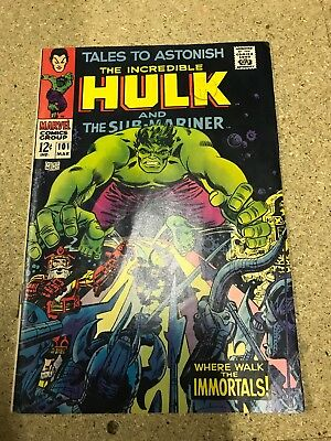 Tales To Astonish The Incredible Hulk 101 Marvel 1967 7.5 Grade