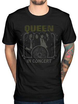 Official Queen In Concert T-Shirt A Day At The Races Hot Space News Of The World