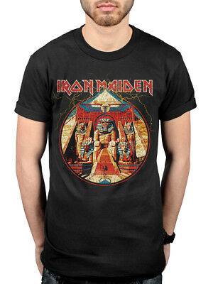 Official Iron Maiden Powerslaves T-Shirt The Book Of Souls Piece Of Mind Killers