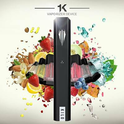 Kilo 1K Portable Vape Pod Kit with option to Add pods 1.5ml 20mg / 4 pods