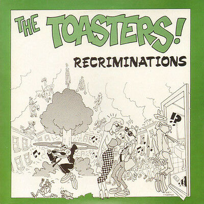 "TOASTERS * Recriminations EP  7"" *Ska *Reissue of rare Unicorn EP"