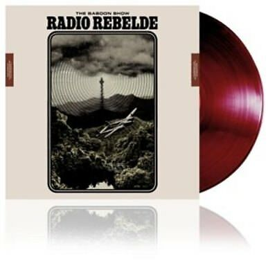 BABOON SHOW * Radio Rebelde LP+mp3 red vinyl *Punk neu*new