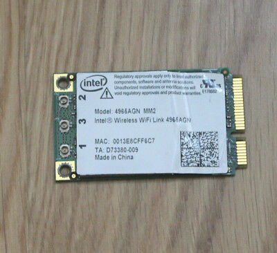 Intel wireless wifi link 4965agn (Acer Travelmate)