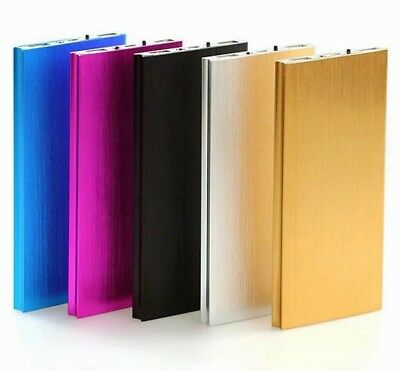 20000mAh Power Bank Charger Dual USB Portable External Slim Battery Powerbank