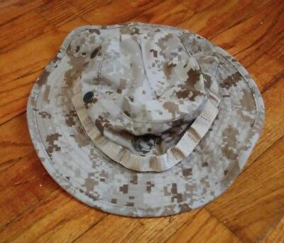USMC Issue Boonie Cover - MARPAT Desert Camouflage - Large Size