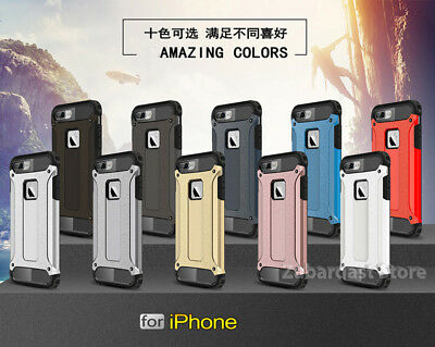 Ultra Slim Armor 2-Piece Hybrid Luxury Shock Proof Case Cover for Apple iPhone