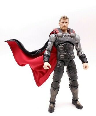 Red & Black Cape for Hasbro Marvel Legends Avengers Infinity War Thor(No Figure)