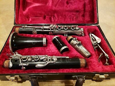 Admirable Buffet Crampon Evette Master Model Clarinet Made In France Download Free Architecture Designs Scobabritishbridgeorg