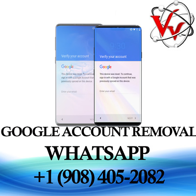 GOOGLE ACCOUNT FRP Unlock Service For Android Phones / remote
