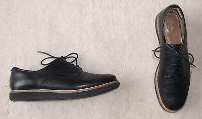 mermelada Racional Parpadeo  CLARKS ARTISAN GLICK Darby BLACK LACE UP FLAT SHOES SIZE 6 D Lightly Worn -  £24.99 | PicClick UK