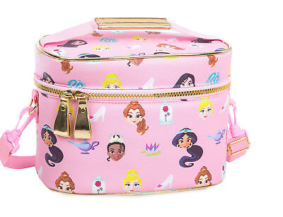 Disney Princess Jasmine Mulan Rapunzel Aurora School Lunch box Tote for backpack