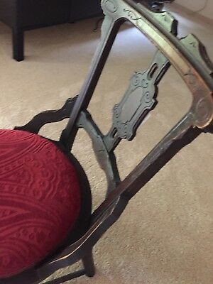 Antique chair foot chair hand made