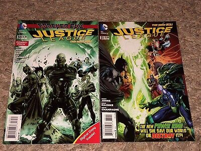 2014 JUSTICE LEAGUE #30 #31 1st cameo & full JESSICA CRUZ Combo pack var FN- VF+