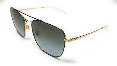 c897ade2db2 RAY BAN RB 3588 9062 i7 Gold Blue Gradient Sunglasses Authentic 55 ...
