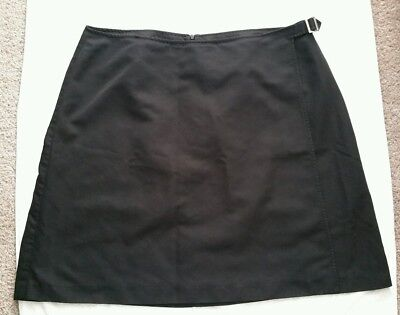 Mcdonald's Apparel Collection Employee Womans Size 20 Black Skirt