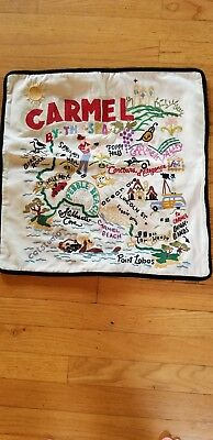 """Catstudio pillow Carmel hand embroidered excellent condition, 18""""X18."""" Case only"""