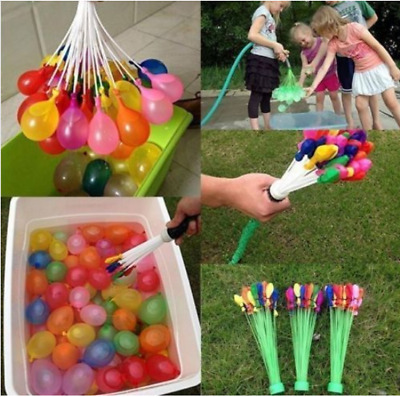 111- 888Pcs Water Balloons Bombs Self Tying Fight Summer Balloon Outdoor Party