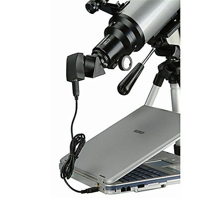 0.35MP USB2.0 MICROSCOPE DIGITAL CAMERA TELESCOPE EYEPIECE 24.5mm/31.7mm