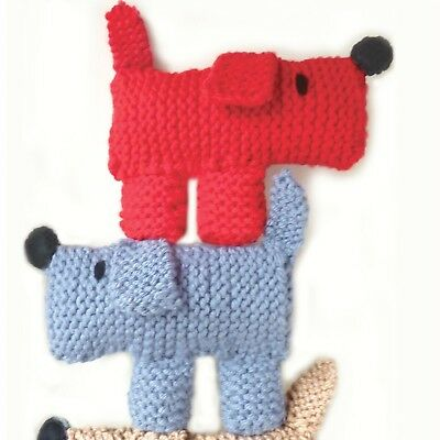 Double Scruff The Dog Learn To Knit Kit