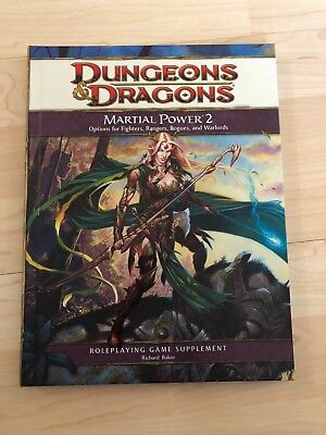 Dungeons & Dragons 4E - Martial Power 2