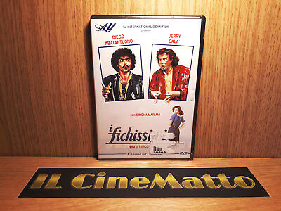 DVD I FICHISSIMI Abatantuono Jerry Calà (1981) 1^ STAMPA ALAN YOUNG ... NUOVO
