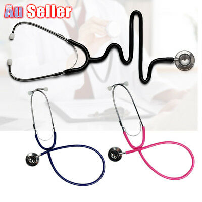 Stethoscope Doctor Eager Tool Headed Dual EMT Accessory Medical Monitor Vet Aid