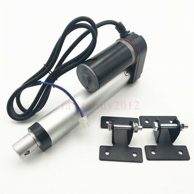"50mm/2"" Heavy Duty Electric Linear Actuator 220LBS 10mm/s DC12V For Dental Whair"