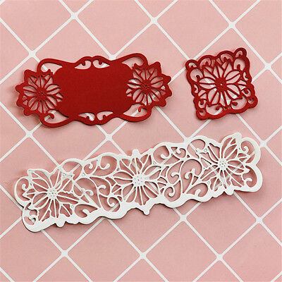 6pcs/set Flowers Metal Cutting Dies For DIY Scrapbooking Album Paper Cards_k