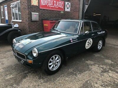 MGB GT Rally car as used by Noel and Liz Edmonds on BBC2 8 go rallying Saigon