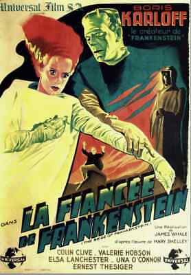 Bride Of Frankenstein !! ( French Poster ! )