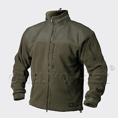 HELIKON TEX CLASSIC ARMY OUTDOOR FLEECE JACKE JACKET Oliv Green XXXL XXXLarge
