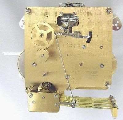 Hermle 1050-020 Mantel Clock Movement Balance Wheel Triple Chime Howard Miller