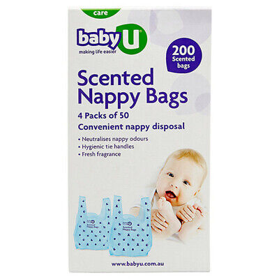 New Baby U Scented Nappy Bags 200