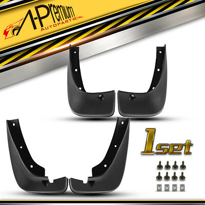 A-PREMIUM 4x SPLASH GUARDS MUD FLAPS FOR 01-07 TOYOTA HIGHLANDER 2.4L 3.0L 3.3L