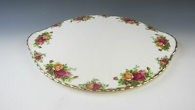 Royal Albert OLD COUNTRY ROSES Handled Cake Plate EXCELLENT