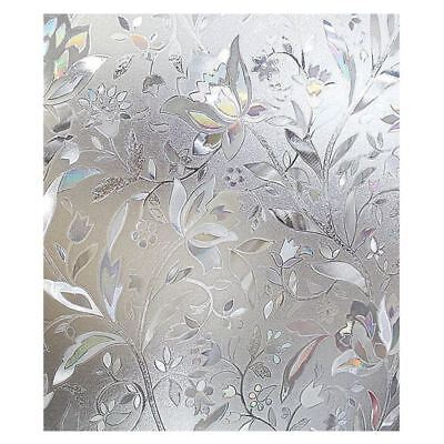 Premium No Glue 3d Static Decorative Frosted Privacy Window Films for Glass I3A5