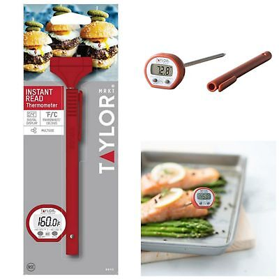 Digital Instant Read Pocket Thermometer Compact Kitchen Utensil Cooking Tool New