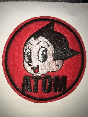 New MIGHTY ATOM BOY (Astro Boy)  Iron on Patch  2.75 inches USA SELLER