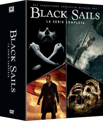 Black Sails Stagioni 1-4 (15 DVD) - ITALIANO ORIGINALE SIGILLATO -