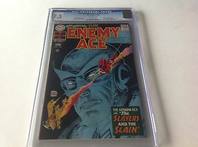 Star Spangled War Stories 138 Cgc 7.5 Ow Pgs Kubert Collection Enemy Ace Begins