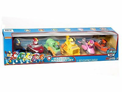 2018 PAW Patrol Rescue Racers Gift Set Pup Pals And Vehicles 6 Pack