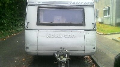 used 4 berth twin axle caravan